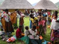 Grote groepen bewoners uit de regio worden geholpen