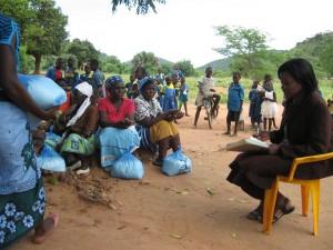 Food aid villages 2014